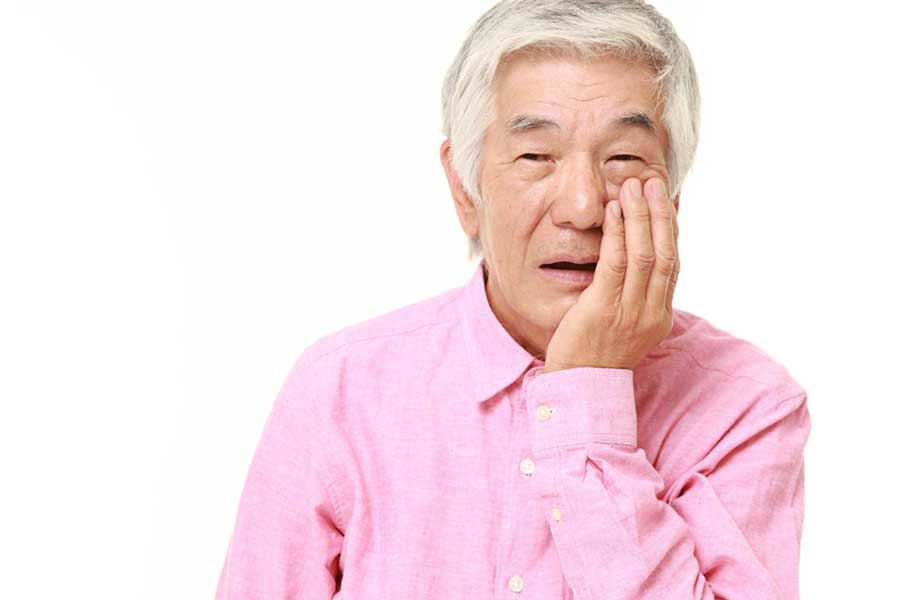 シニアの歯の痛み