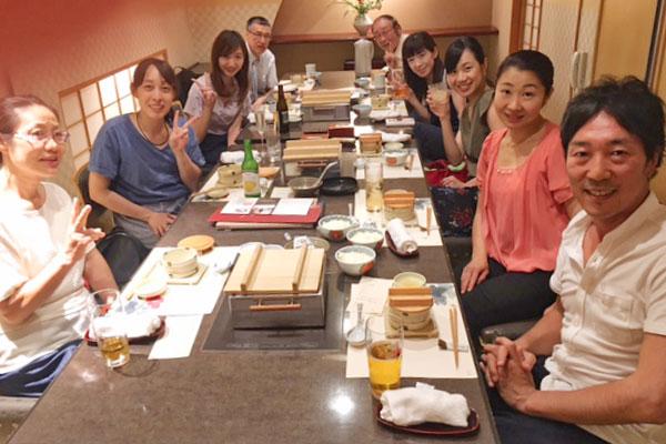 スタッフの食事会